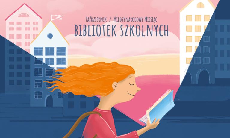 """Międzynarodowy Miesiąc Bibliotek Szkolnych """"Przyłapani Na Czytaniu"""""""